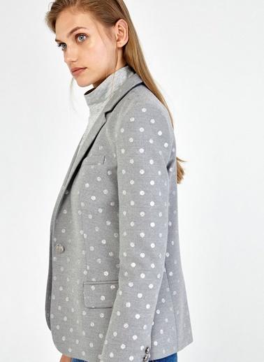 Puantiyeli Blazer Ceket İpekyol